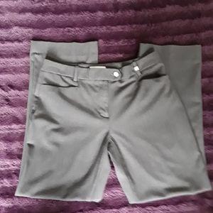 Calvin Klein Gray Dress Slacks size 4